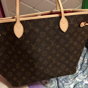Handbags - Louis Vuitton neverfull size mm